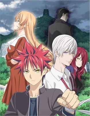 ZAQ y nano.RIPE  pondrán los temas de opening y ending para la tercera temporada de Shokugeki no Souma