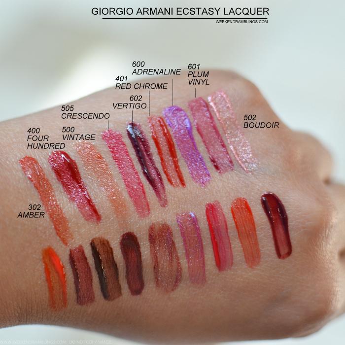 Ecstasy Lacquer Lip Gloss by Giorgio Armani Beauty #5