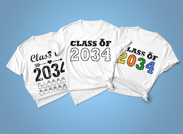 Class of 2034 Grow With Me shirt