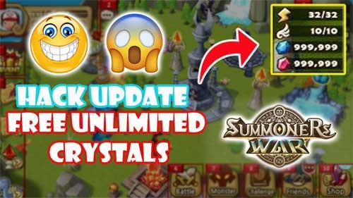 Summoners War Crystals Cheat