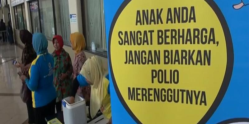 contoh gambar iklan edukasi polio ke masyarakat
