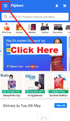 how to cancel order in flipkart with images