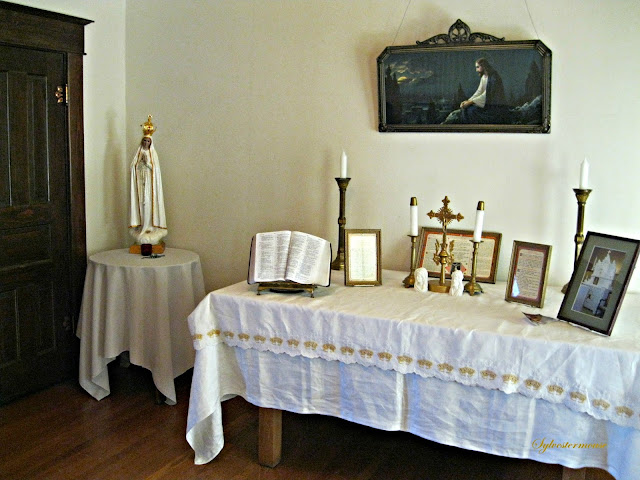 Prayer Room in The Hemingway-Pfeiffer Museum - Photo by Cynthia Sylvestermouse