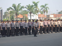 Polda Banten, Jamin Keamanan Masyarakat Jelang Pelantikan Presiden