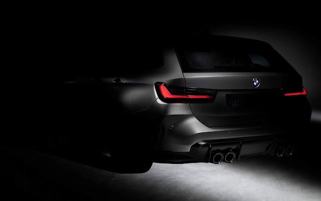 BMW M3 Touring 2021: primeira imagem oficial revelada