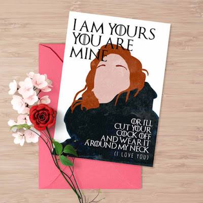 Game of Thrones Love Card | Tomes and Tequila Blog