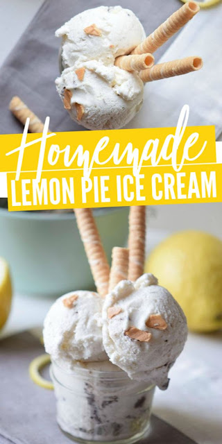 Lemon Pie Ice Cream Recipe for Summer