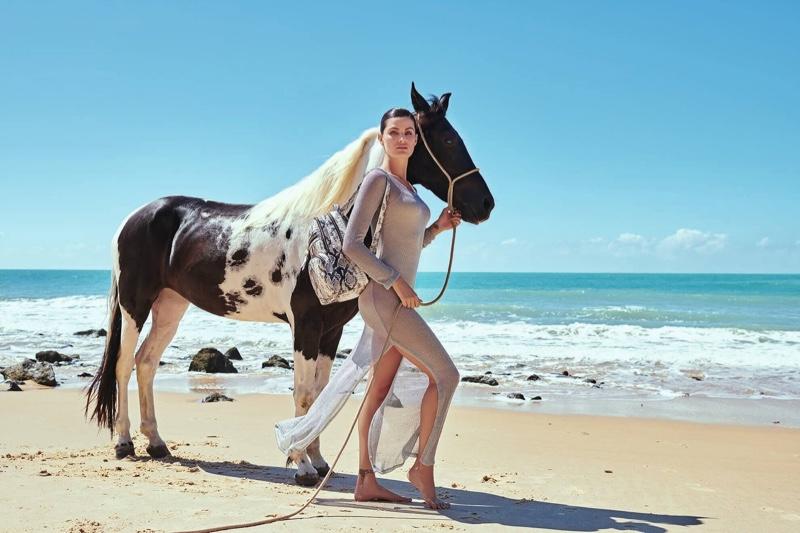 Isabeli Fontana stars in Luz da Lua summer 2020 campaign