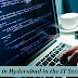 Why there is a good demand of jobs in Hyderabad in the IT sector?