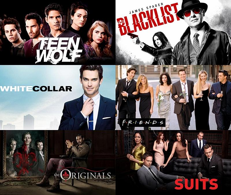 Netflix omat sarjat