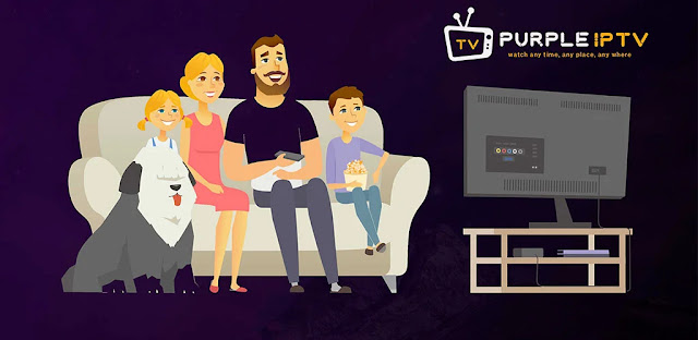 قم بتنزيل IPTV Smart Purple Player - No Ads Full 4.0 - تطبيق IPTV Smart لنظام الاندرويد