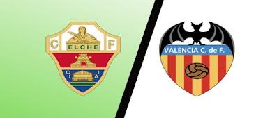 موعد مباراة فالنسيا وإلتشي valencia vs elche كورة كول مباشر 30-1-2021 والقنوات الناقلة في الدوري الإسباني