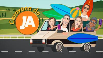 Caravana de Verão do JA. Crédito: Divulgação