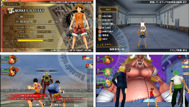 Game One Piece Romance Dawn ISO high compress