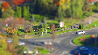 Tilt Shift Miniature Picture
