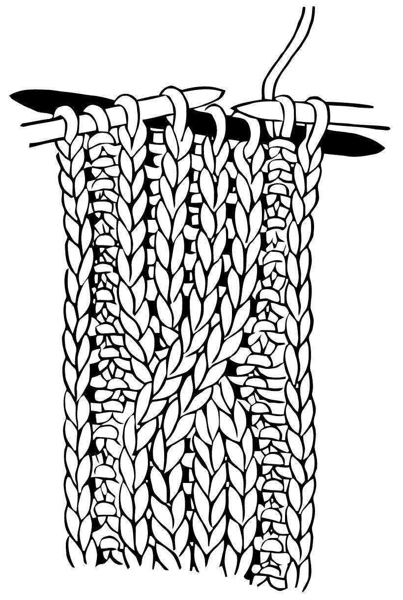 Ephemeraphilia: Free Vector Art: Cable Knitting