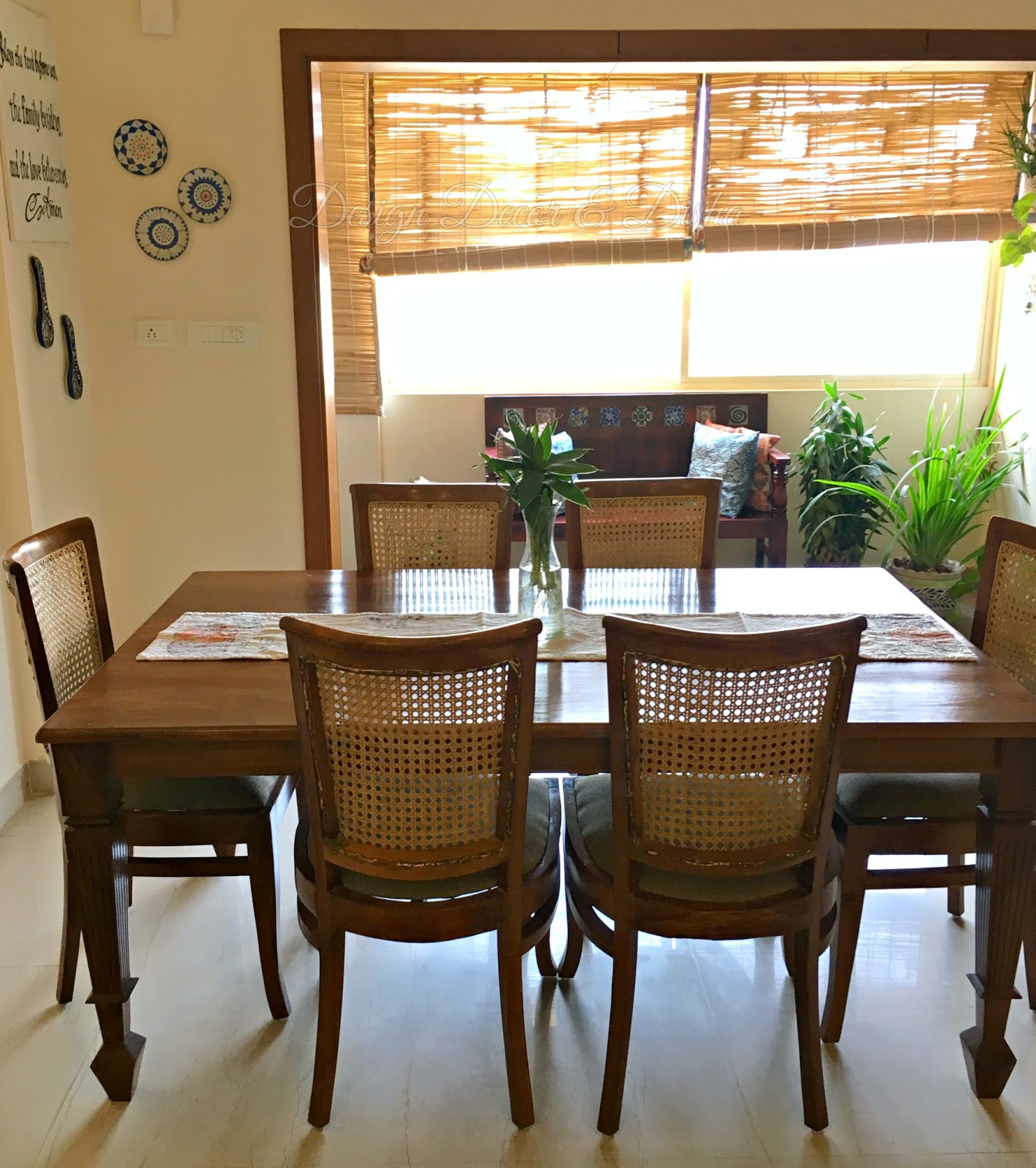 Colonial Dining Room: An Indian Design & Decor Blog