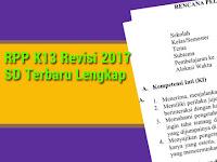 RPP K13 Revisi 2017 SD Terbaru Lengkap
