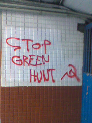 Imagini pentru stop green hunt