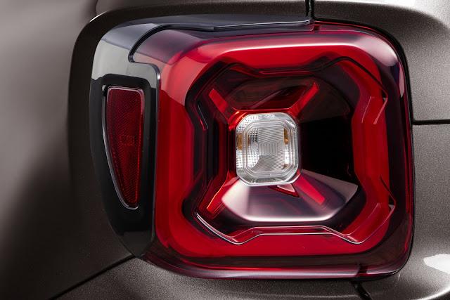 Jeep Renegade 2020 - Lanternas em LED