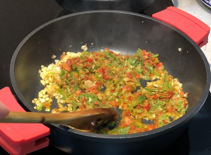 Arroz con pluma ibérica, alcachofa y trufa