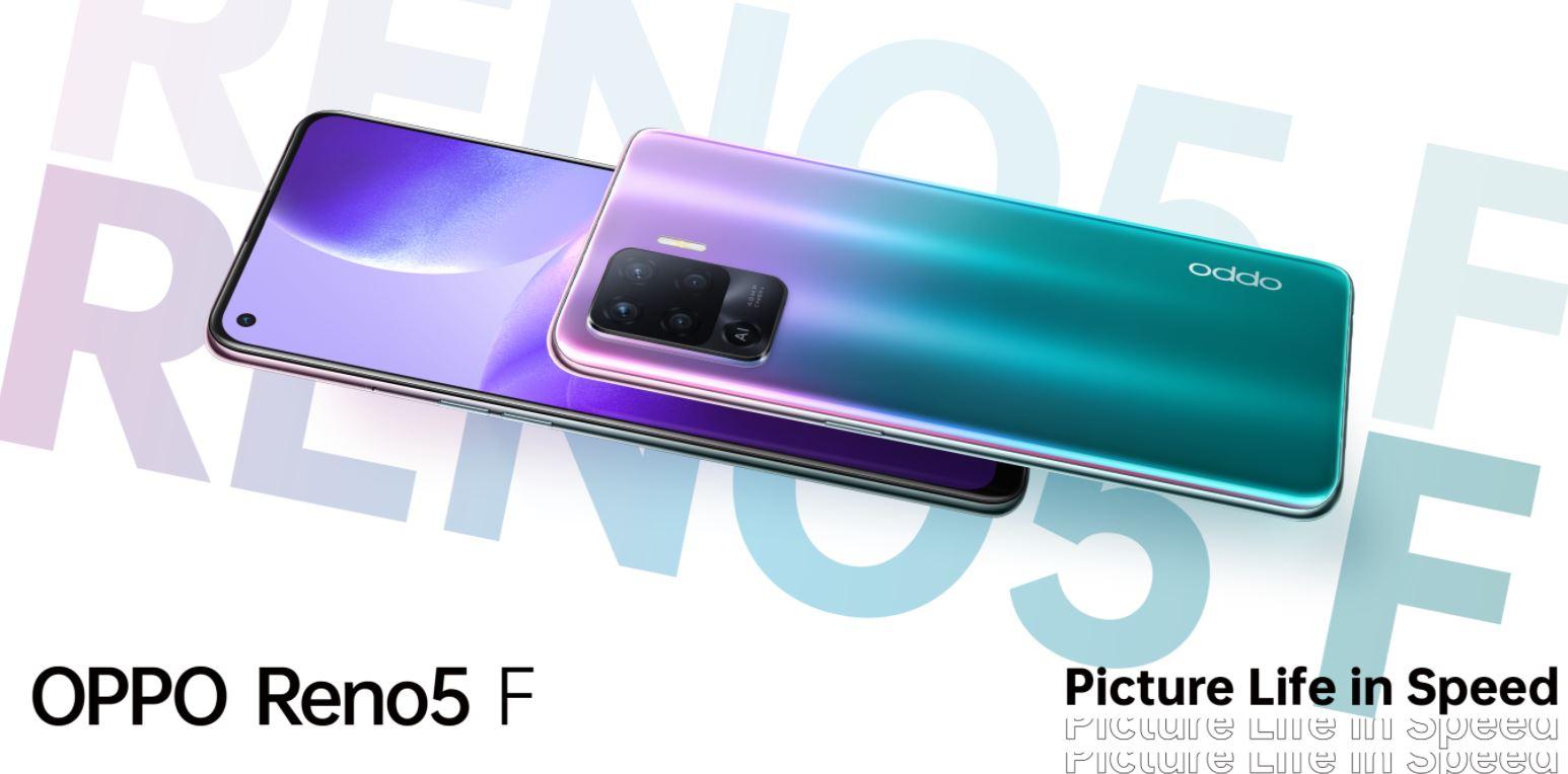 Harga dan Spesifikasi Oppo Reno5 F RAM 8GB ROM 128GB Bertenaga Helio P95 Terbaru di Indonesia