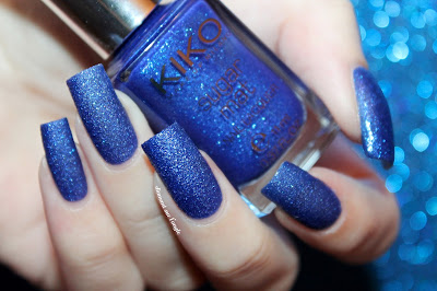 "Swatch of ""457 - Royal Blue"" by Kiko"