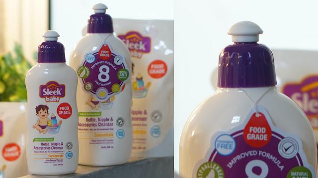bersama melindungi dengan sleek baby pencuci botol 8 protection