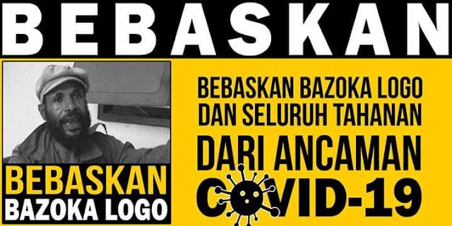 """Keluarga Bazoka Logo """"Tidak Diizinkan Masuk ke Rumah Sakit"""""""