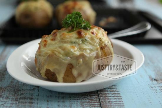Resep Kentang Panggang Keju Mayonnaise JTT