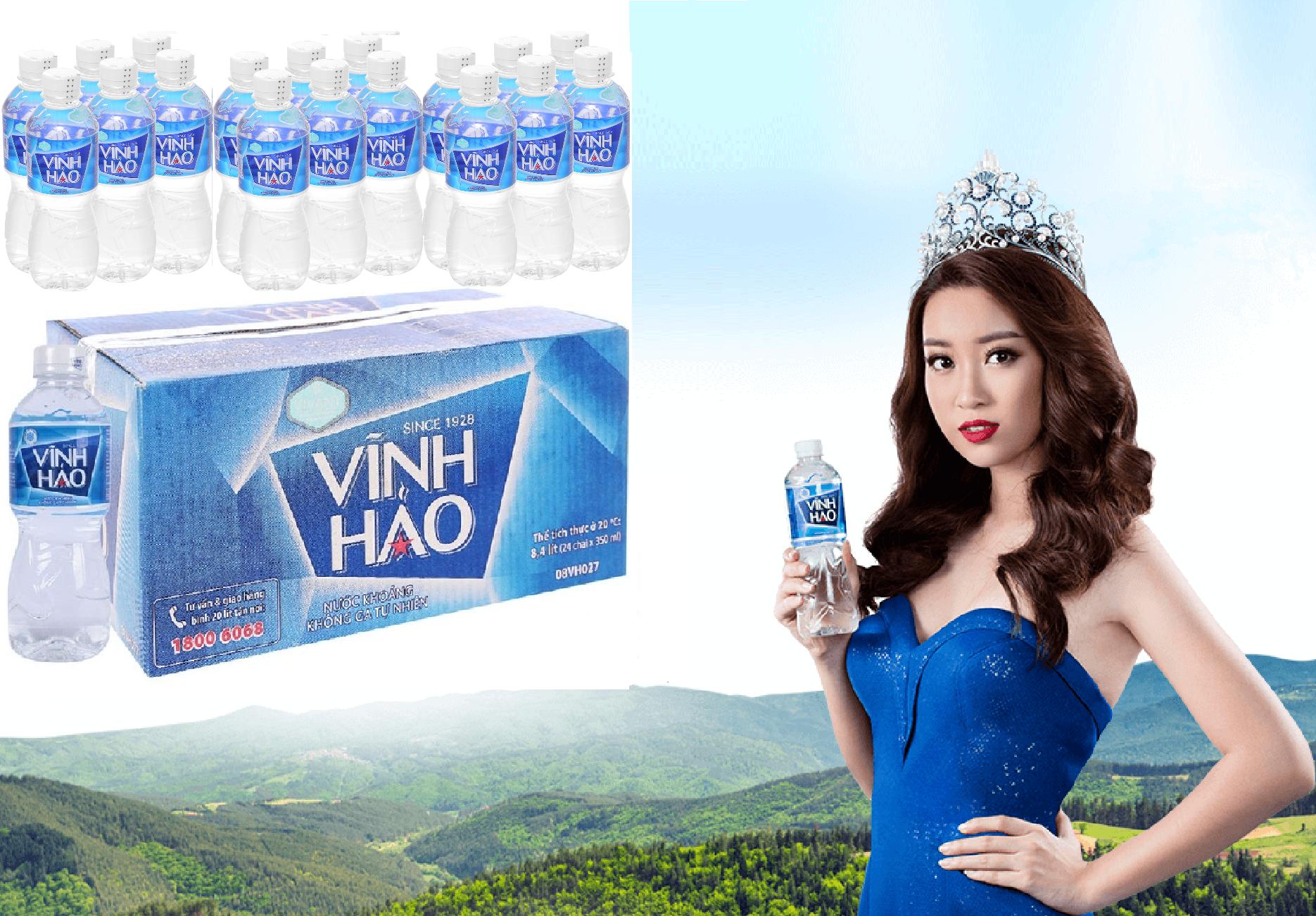 Nước khoáng Vĩnh Hảo chai nhỏ 330ml- VINH HAO 330ML