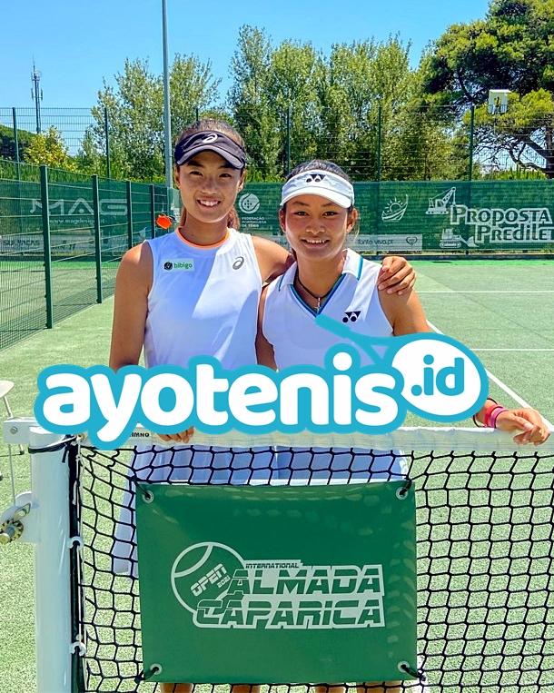 Berlaga di ITF Amarante Ladies Open, Priska Madelyn Nugroho Berduet dengan Federica Rossi