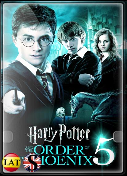 Harry Potter y la Orden del Fénix (2007) HD 720P LATINO/INGLES