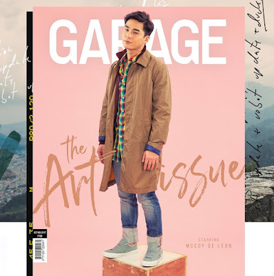 McCoy De Leon graces cover of Garage magazine