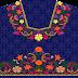 Traditional Textile Digital Print Lehenga Choli - Front Top 2721