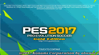 New Save Data FTS mod PES 2017 Gold Edition Android