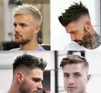short hair mens