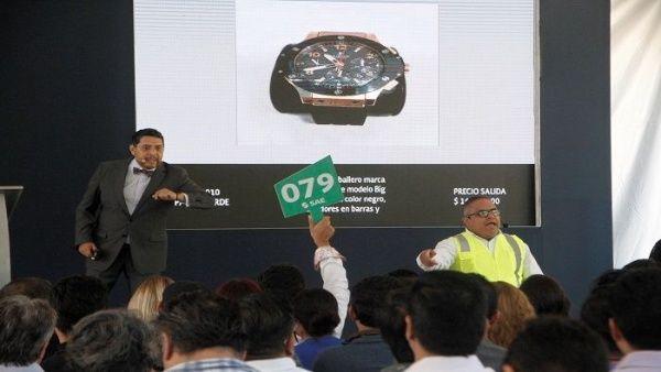 Subastan 110 lotes de joyas incautadas por la justicia de México