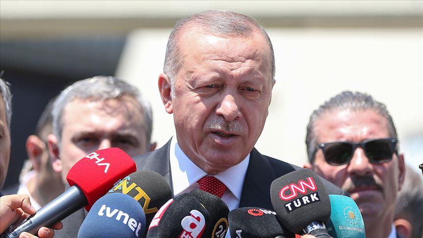 Cumhurbaşkanı Erdoğan:Annelerin yanındayız