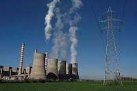 A view of the coal-fired power station of the Public Power Corporation (PPC) near the northern town of Ptolemaida, Greece, April 2, 2017. Picture taken April 2, 2017. (Credit: Reuters/Alexandros Avramidis - RTX34DBJ) Click to Enlarge.