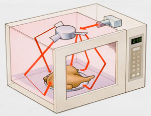 Science Inspiration How Does A Microwave Oven Work