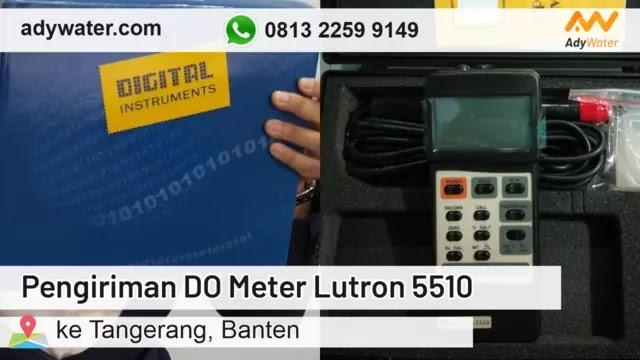Pengiriman DO Meter Terbaru 2020 | Jual DO Meter untuk IPAL Industri