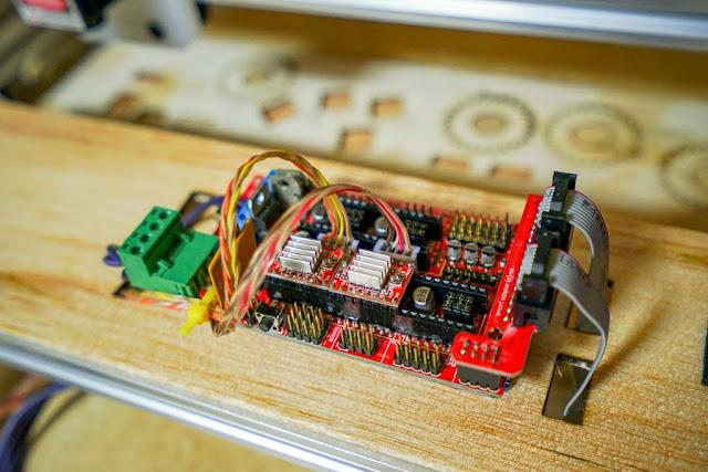 Modul RAMPS1.4 dan Arduino Mega 2650