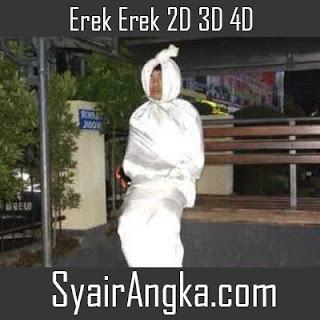 Erek Erek Pocong 2D 3D 4D di Buku Mimpi dan Primbon