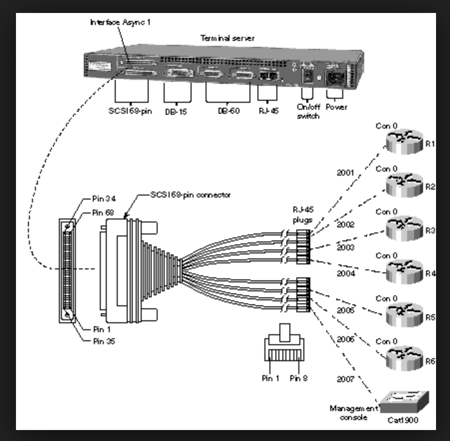 Cisco Router As Terminal Server Why And How To Configure Route Xp Diagram Fig 11