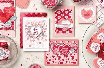 Stampin' Up! From the Heart Suite ~ January-June 2020 Mini Catalog