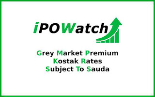 IPO Grey Market Premium