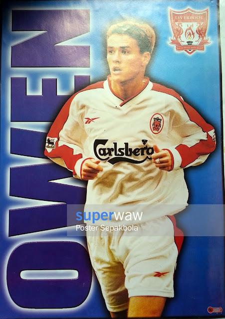 Poster Michael Owen Liverpool