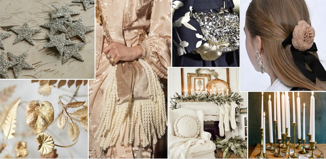 belle noel holiday 2020 mood board