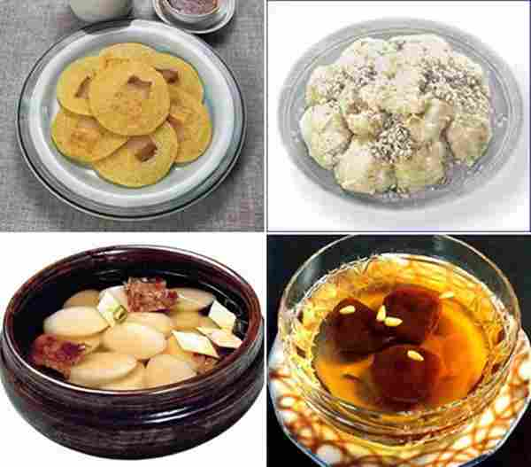 Lunar New Year's Day Dishes